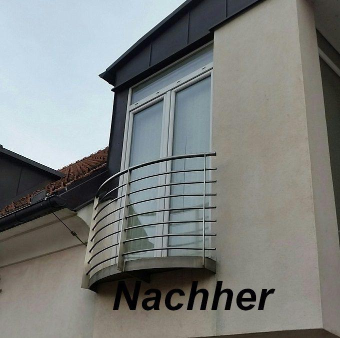Balkon mit Behandlung