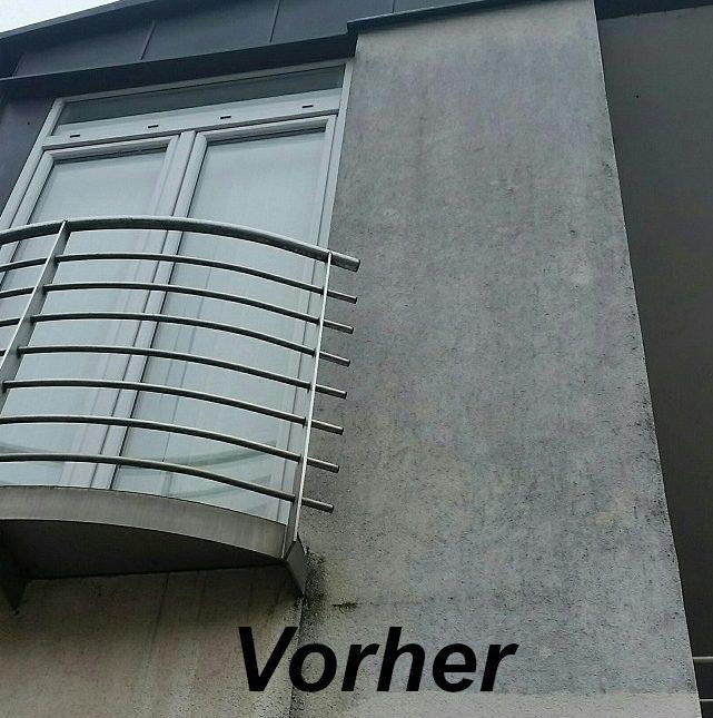 Balkon ohne Behandlung