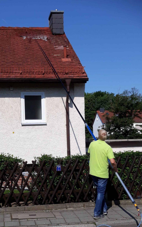 Dach besprühen