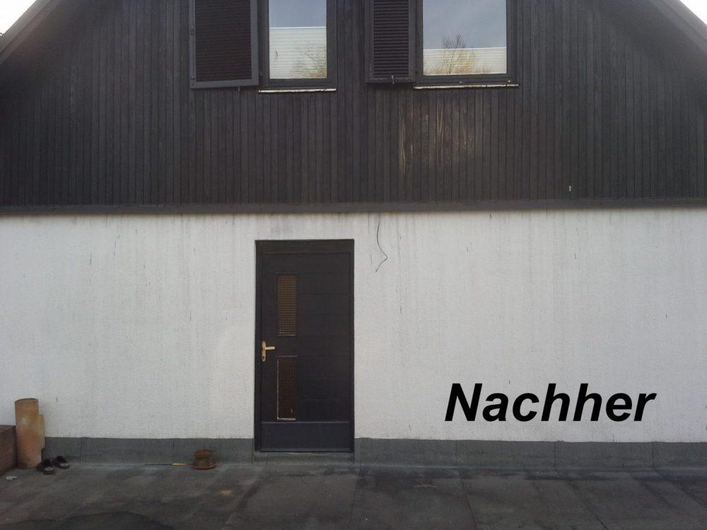 Fassadenreinigung-nachher